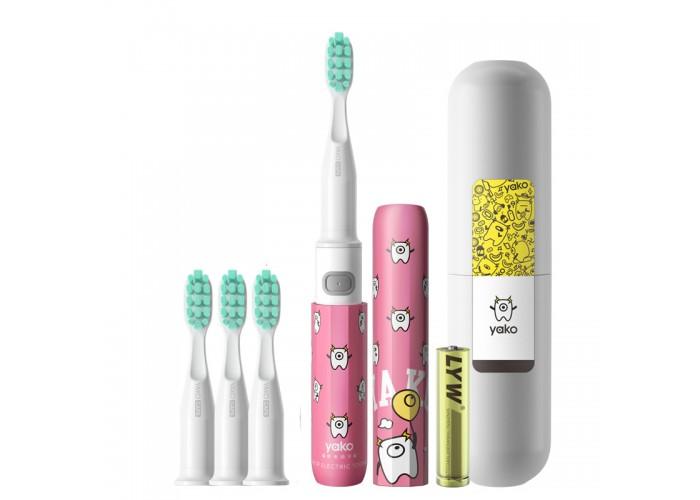 Звуковая зубная щетка YAKO A1 Lollipop (Леденец) 3 насадки