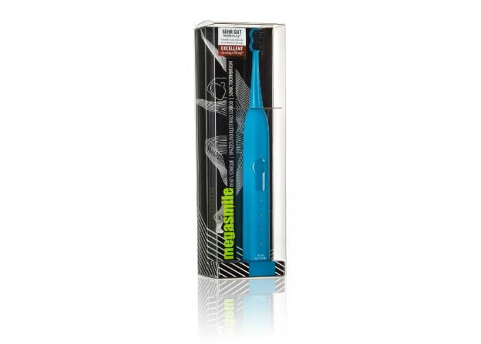 Гидроактивная звуковая зубная щетка Megasmile Блэк Вайтенинг Голубая