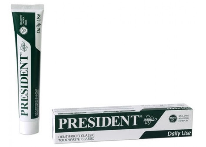 Зубная паста President Classic Сlinical 75 мл