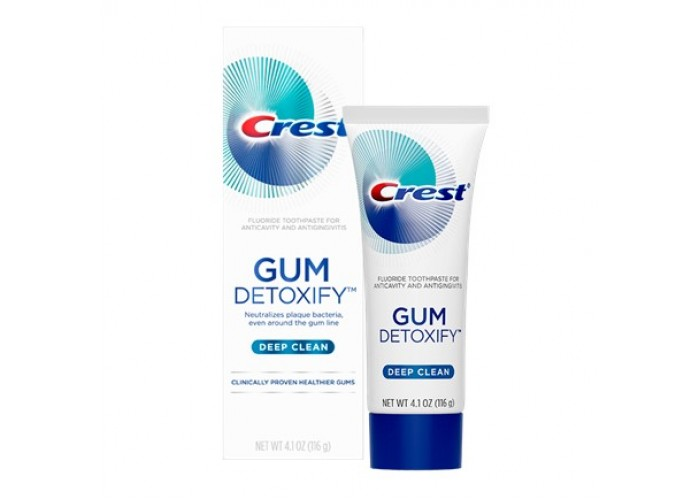 Зубная паста Crest Gum Detoxify Deep Clean 116 мл