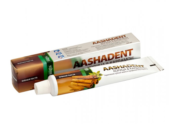 Зубная паста Aasha Herbals Корица-Кардамон 75 мл