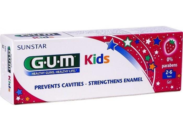 Детская зубная паста Gum Kids от 2 до 6 лет 50 мл