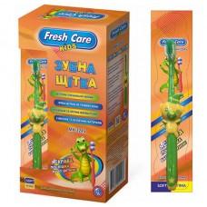 Детская зубная щетка Fresh care Мишка мягкая до 7 лет