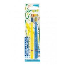 Набор зубных щеток Curaprox Smart CS 7600 Jungle 2 шт