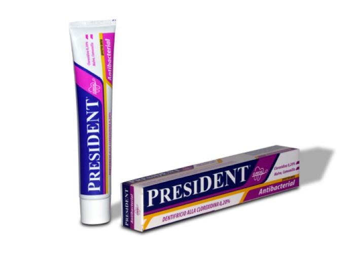 Зубная паста President Antibacterial 10 мл