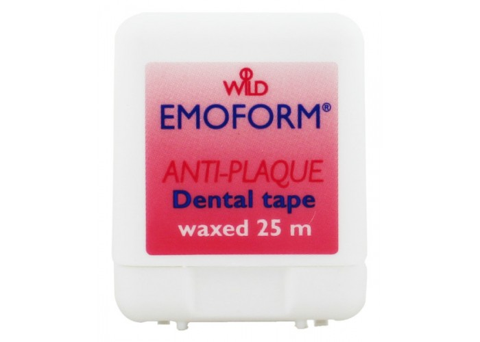 Зубная лента Emoform вощеная 25 м