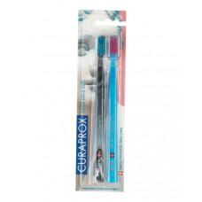 Набор зубных щеток Curaprox Ultrasoft CS 5460 Michelangelo 2 шт