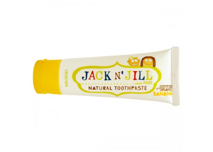 Детская зубная паста Jack N' Jill Банан от 2 лет 50 мл