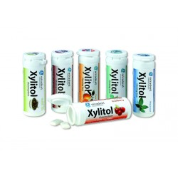 Жевательная резинка с ксилитолом Miradent Xylitol chewing gum
