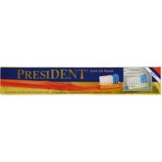 Зубная щетка President Золото