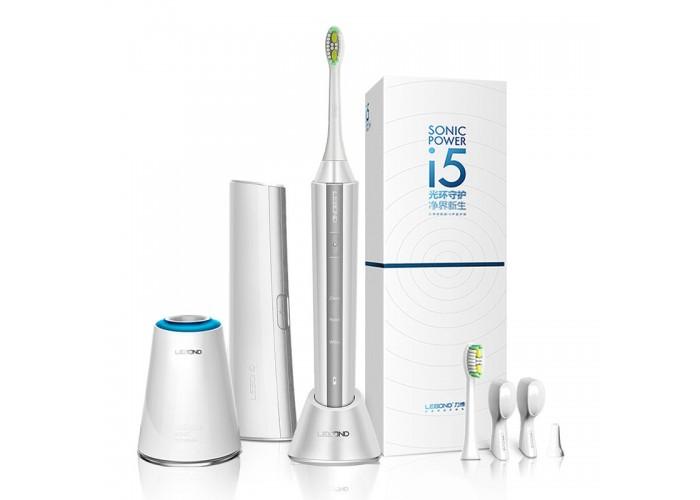 Звуковая зубная щетка Lebond I5 White 2 насадки