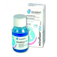 Ополаскиватель рта Miradent Mirafluor с хлоргексидином 0,06% 100 мл