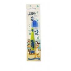 Детская зубная щетка Pasta del Capitano Baby от 3 до 6 лет зелёная