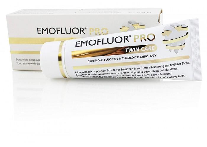Зубная паста Emofluor Pro Twin care 75 мл