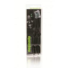 Зубная щетка Megasmile Black Whitening Loop чёрная средняя жесткость 2 шт