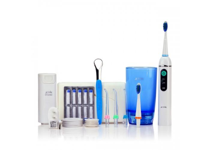Ирригатор полости рта и звуковая зубная щетка Jetpik JP200-Ultra