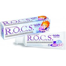 Детская зубная паста R.O.C.S. Kids Бабл гам от 4 до 7 лет 35 мл