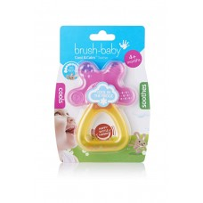 Грызунок Brush-Baby Cool&Calm Pink/Orange
