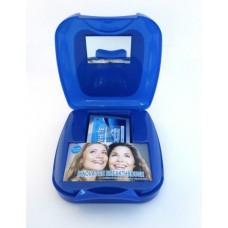Полоски для отбеливания зубов Beaver Bright White 1-Hour Express в пластмассовом футляре 14 шт