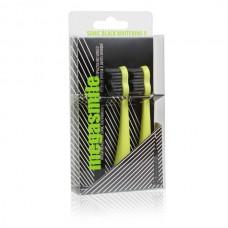 Насадки для гидроактивной звуковой зубной щетки Megasmile Блэк Вайтенинг Желтые 2 шт
