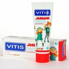 Детская зубная гель-паста Vitis Junior от 6 лет 75 мл
