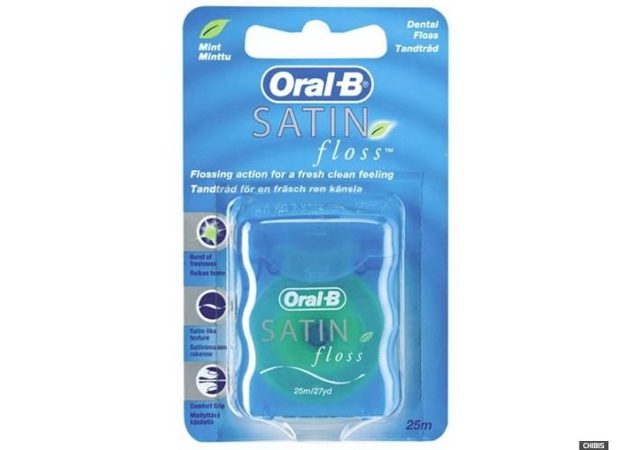 Зубная нить (флоссы) Oral-B Satin Floss 25 м