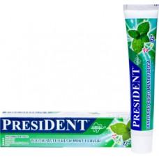 Детская зубная паста President Teens от 12 лет Вкус свежей мяты 50 мл