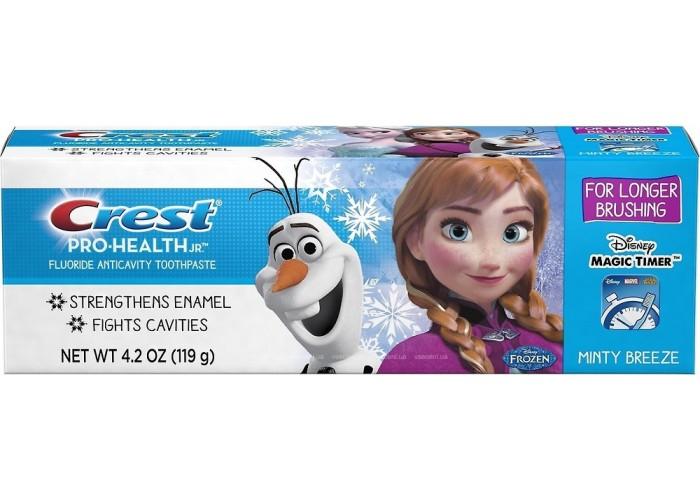 Детская зубная паста Crest Kid's Pro-Health JR. Frozen Minty Breeze от 2 лет 119 мл