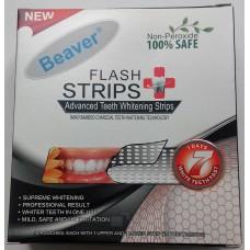 Полоски для отбеливания зубов с бамбуковым углем Beaver Flash Strips Red