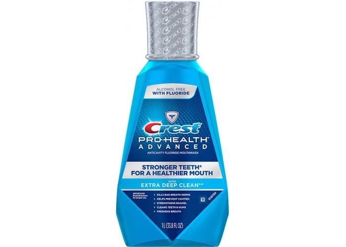 Ополаскиватель для полости рта Crest MWash Pro-Health Advanced Extra Deep Clean 1 л