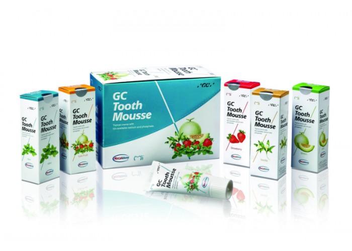 Гель для восстановления эмали GC Tooth Mousse 5 шт по 35 мл