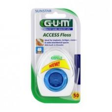 Зубная нить Gum Access Ортодонтическая 50 шт