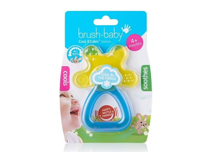 Грызунок Brush-Baby Cool&Calm Yellow/Blue