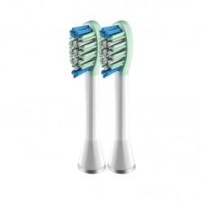 Насадки для электрической зубной щетки Lebond Unique Whitening White 2 шт