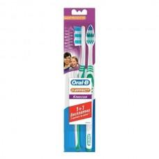 Зубная щетка Oral-B 3 Effect Classic средняя жесткость 1+1 шт