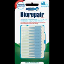 Силиконовые зубочистки Biorepair размер S 40 шт.