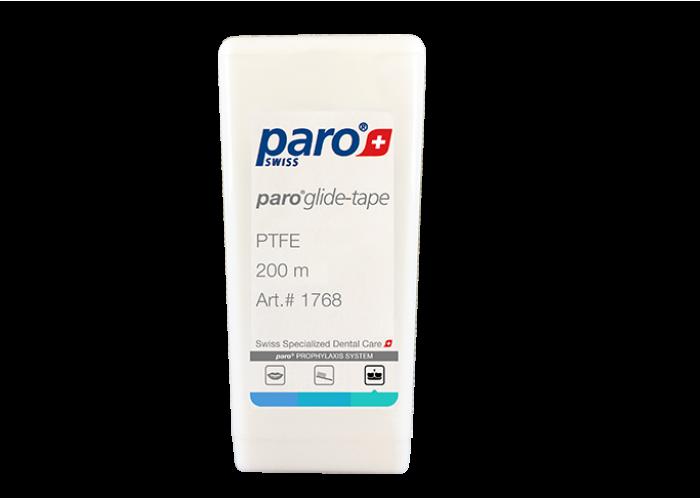 Зубная лента (флосс) тефлоновая Paro Glide-Tape 200 м