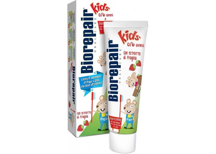Детская зубная паста BioRepair Веселый мышонок 50 мл
