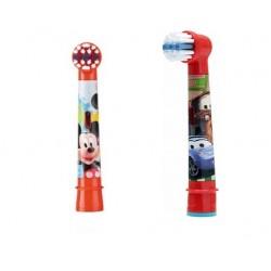 Сменные насадки для детской зубной щетки Oral-B Микки Маус/Тачки 2 шт
