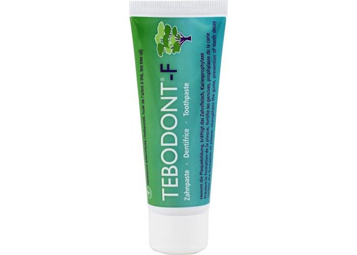Зубная паста с маслом чайного дерева Tebodont-F со фтором 75 мл