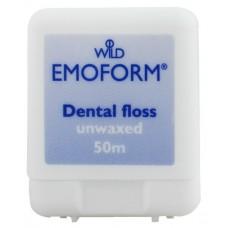 Зубная нить (флосс) Emoform не вощенная тонкая 50 м