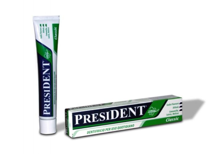 Зубная паста President Classic 10 мл