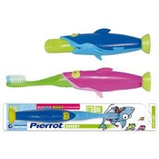 Зубная щетка Pierrot Акула от 2 до 8 лет