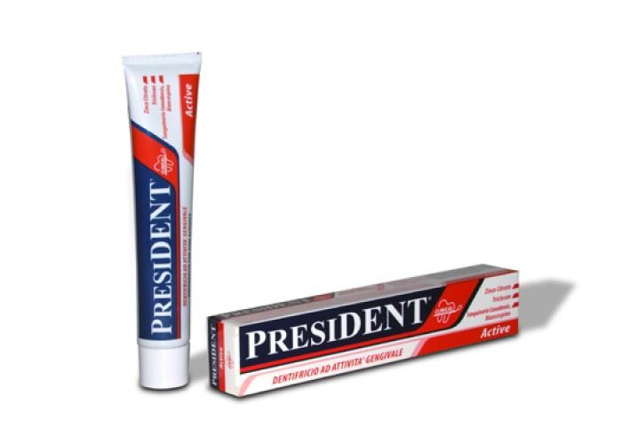 Зубная паста President Active Clinical 75 мл