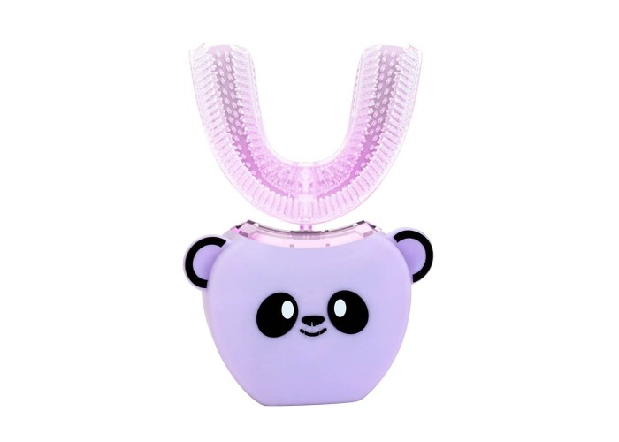 Детская электрическая зубная щетка Beaver V-White Kids Smart automatic toothbrush Фиолетовая