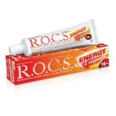 Зубная паста R.O.C.S. Energy с таурином 60 мл