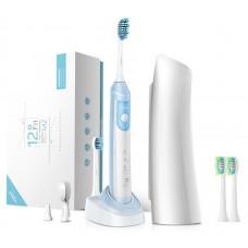 Звуковая зубная щетка Lebond MZ Plus Blue Sky 4 насадки