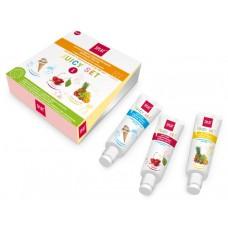 Набор укрепляющих зубных паст Splat Juicy set