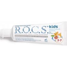 Детская зубная паста R.O.C.S. kids Фруктовый рожок без фтора от 3 до 7 лет 35 мл