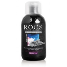 Ополаскиватель для полости рта Rocs Black Edition отбеливающий 250 мл
